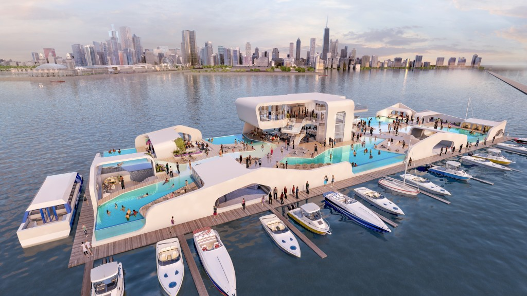 New Floating Island on Lake Michigan Will Take Chicago by Storm – Ivy Magazine