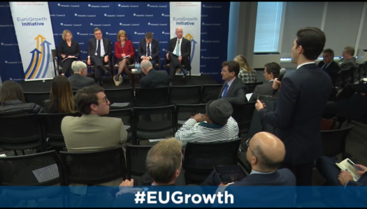 IVY's Policy Program Director Talks with Atlantic Council's International Political Leaders