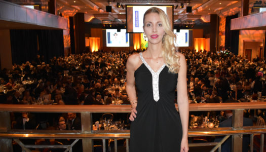 Fashion Icon Simonetta Lein, Celebrity Host at the IVY Winter Gala