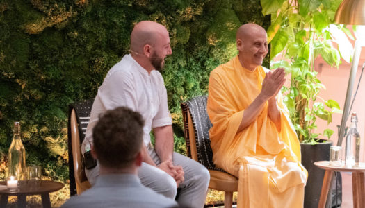 The Power of Strong Ethical Leadership with Radhanath Swami and Jay Shetty   IVY TV Live Stream